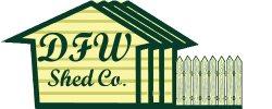 DFW Shed Co. Logo