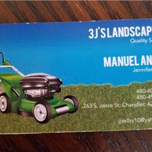 3Js Landscaping Logo