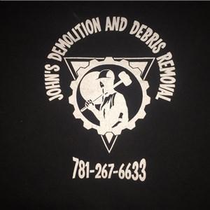 Johns Demolition and Debris Removal Logo
