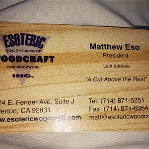 Esoteric Woodcraft Cover Photo