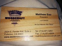 Esoteric Woodcraft Logo