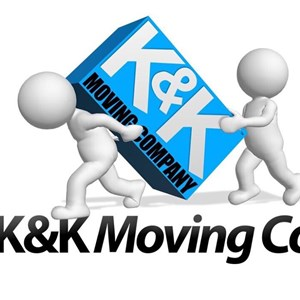 K & K Moving & Cleaning Services Logo