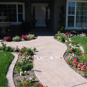 Diy Stamped Concrete Patio