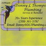 Donny L Thompson Plumbing Logo