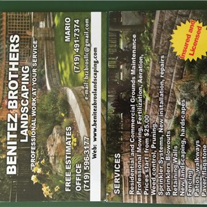 Benitez Brothers Landscaping LLC Cover Photo