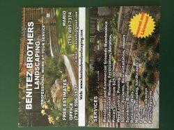 Benitez Brothers Landscaping LLC Logo