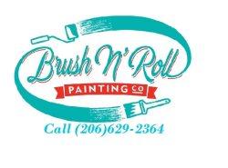 Brush N Roll Painting Co. Logo