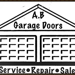 A.B Garage Doors Logo