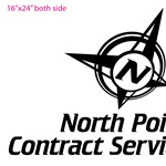 North Point Contract Service Logo