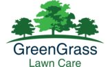 Green Grass Lawn Care Logo