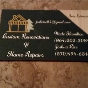 Custom Renovations & Home Repairs Cover Photo
