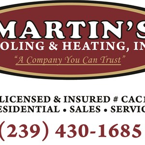Martins Cooling And Heating Logo