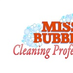 MISS BUBBLES Cleaning Professionals Logo