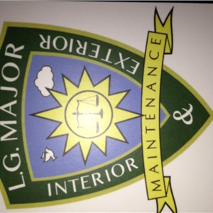 L.g. Major Interior & Exterior Maintainance Logo
