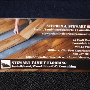 Stewart Family Flooring Logo