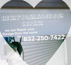 Henrys Garage Door Service Logo