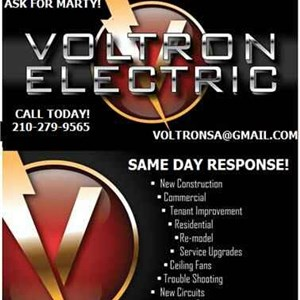 Voltron Electric Logo