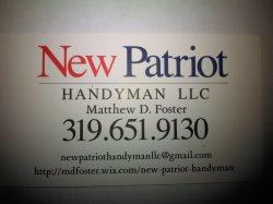 New Patriot HandyMan LLC Logo