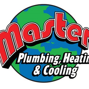 Master Plumbing, Heating & Cooling Logo