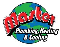 Master Plumbing, Heating & Cooling Logo