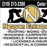 1 x 7 Garage Door Services Logo