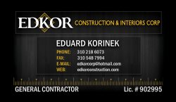 Edkor Construction & Interior Corp Logo