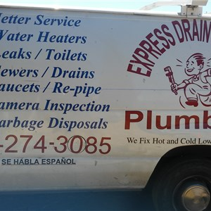 Express Drain Cleaning & Plumbing - Hayward Logo