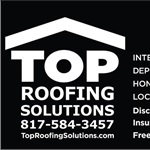Top Roofing Solutions Logo