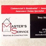 Masters Service Roofing & Construction Cover Photo