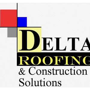 Delta Roofing & Construction Logo