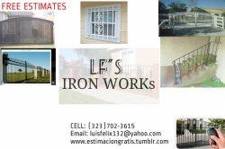 Lf Iron Works Logo