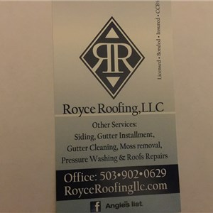 Royce Roofing Cover Photo