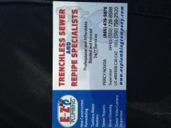 E-z Plumbing Company - Trenchless Sewer & Repipe Specialists Logo