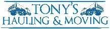 Tonys Cheap Hauling and Moving Logo