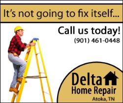 Delta Home Repairs Logo