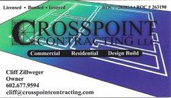 Crosspoint Contracting LLC Logo