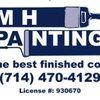M H Painting Logo