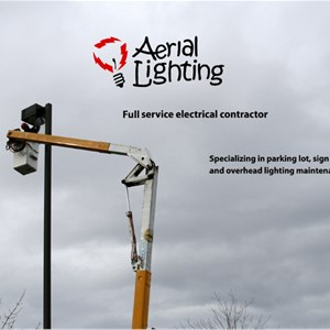 Aerial Lighting Maintenance Logo