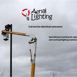 Aerial Lighting Maintenance Logo
