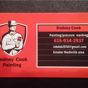 Rodney Cook Painting Logo