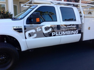 C & C Plumbing And Drain Cleaning Logo