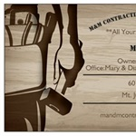 M & M Contracting and Handyman Svc Inc Logo