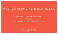 Moores Plumbing & Septic Logo