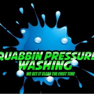 Quabbin Pressure Washing.com Logo