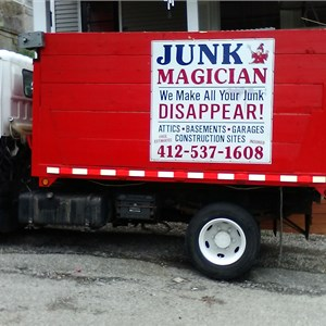 The Junk Magician Cover Photo