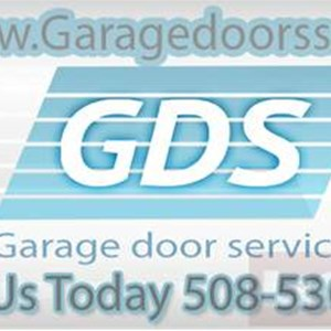 Garage Door Service Logo