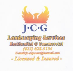Jcg Landscaping Services Logo
