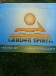 Garden Spirit Landscape Logo