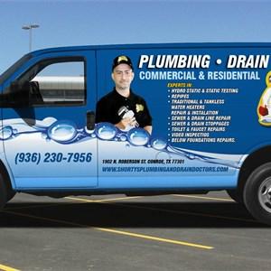 Shortys Plumbing & Drain Doctors Logo