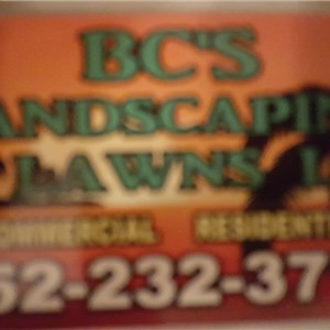 Bcs Landscaping and Lawns Logo